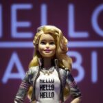 Hello Barbie on display at the Mattel showroom at the North American International Toy Fair in New York (Mark Lennihan/AP)