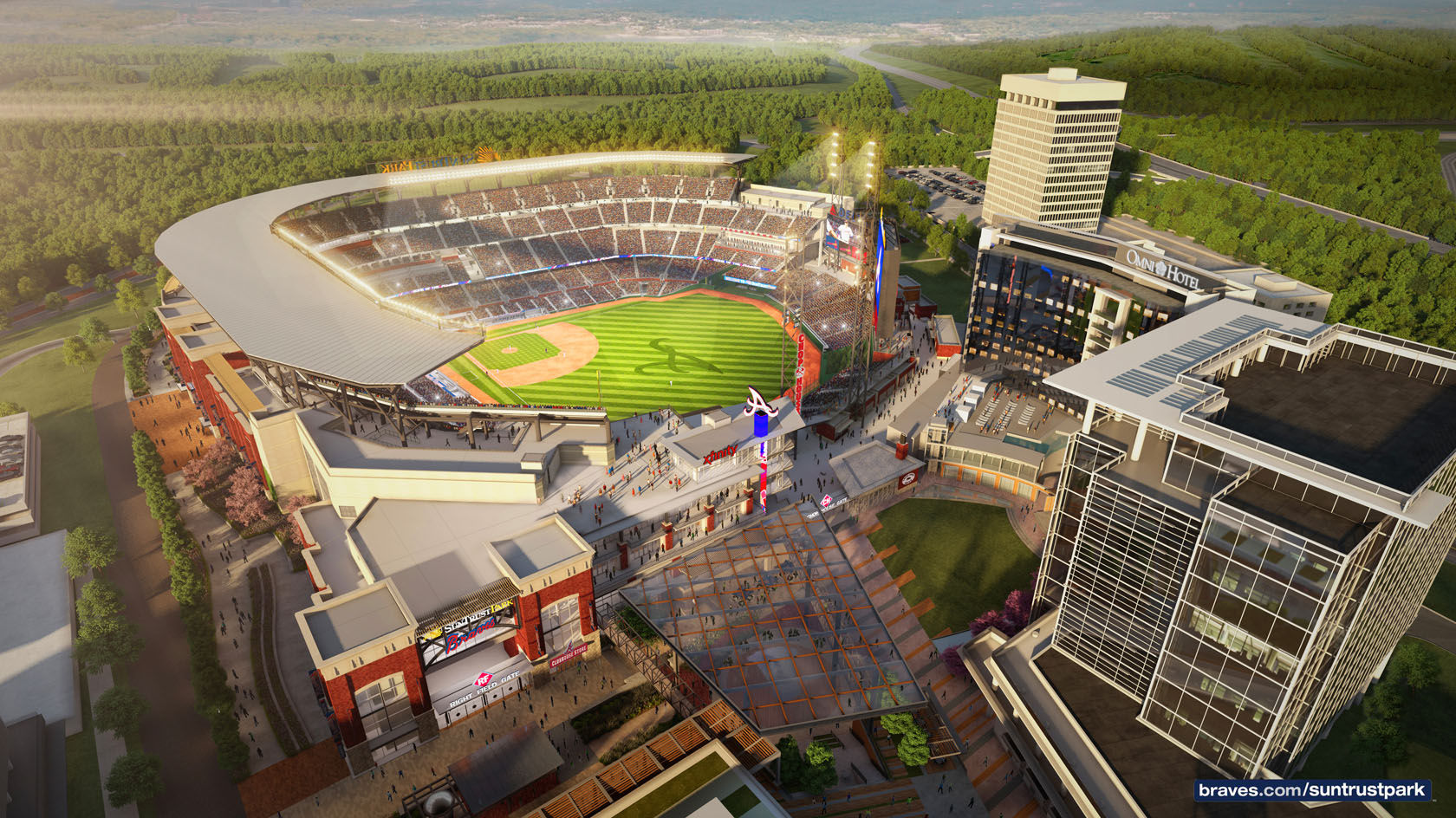 Atlanta Expansion: Tech Team Moves to The Battery at Suntrust Park