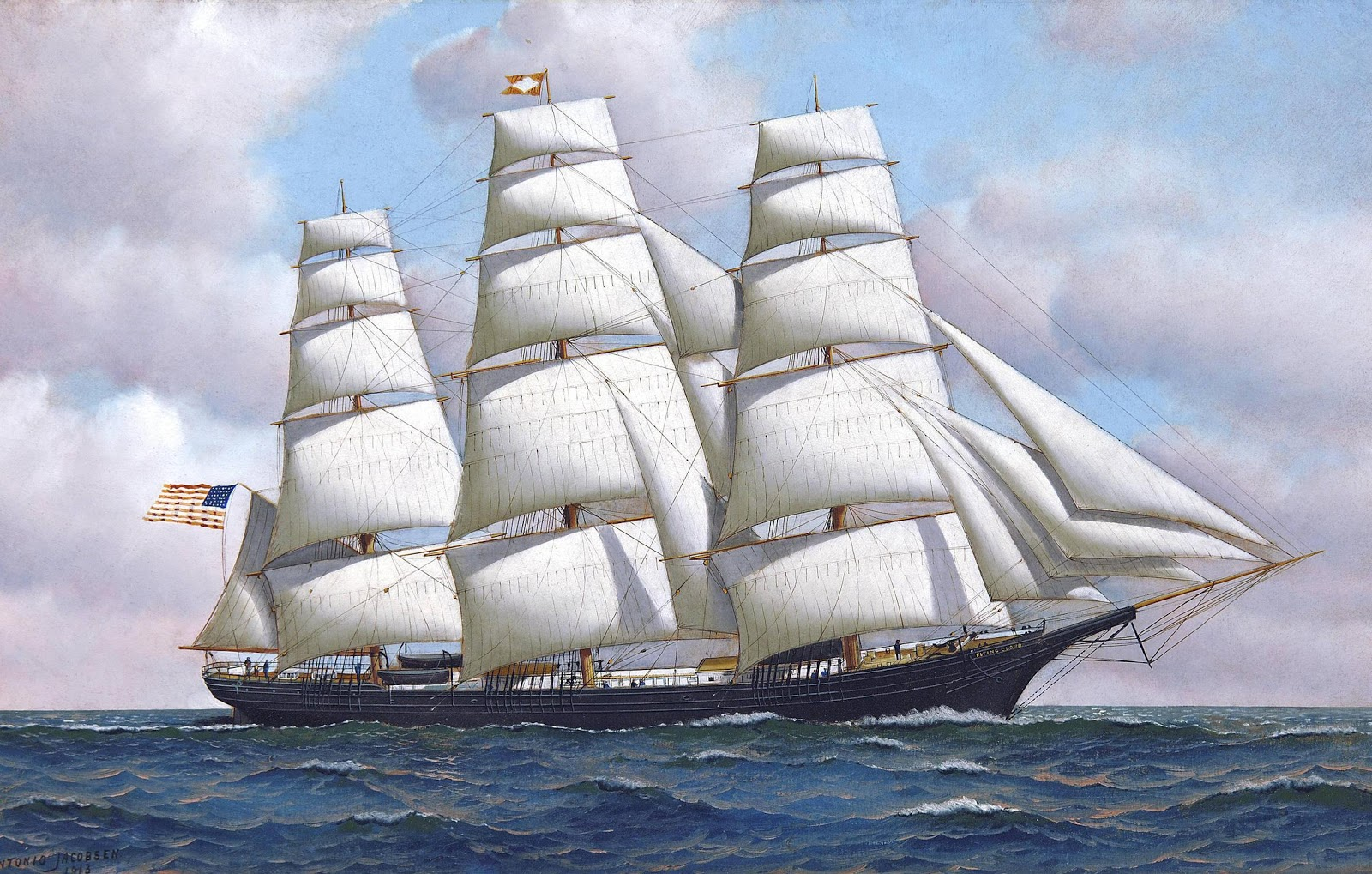 Part of the Ship, Part of the Crew